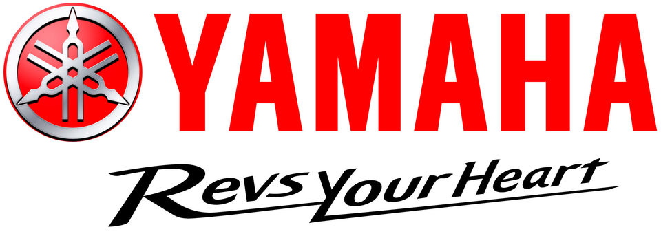 Yamaha logo and slogan