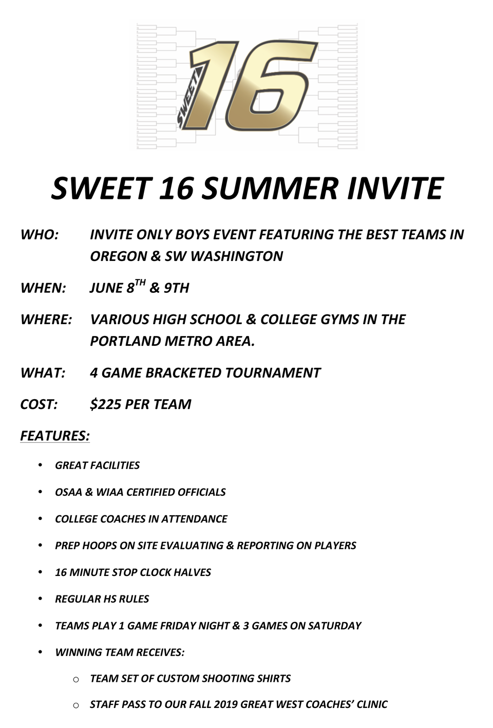 Sweet16summerinvite