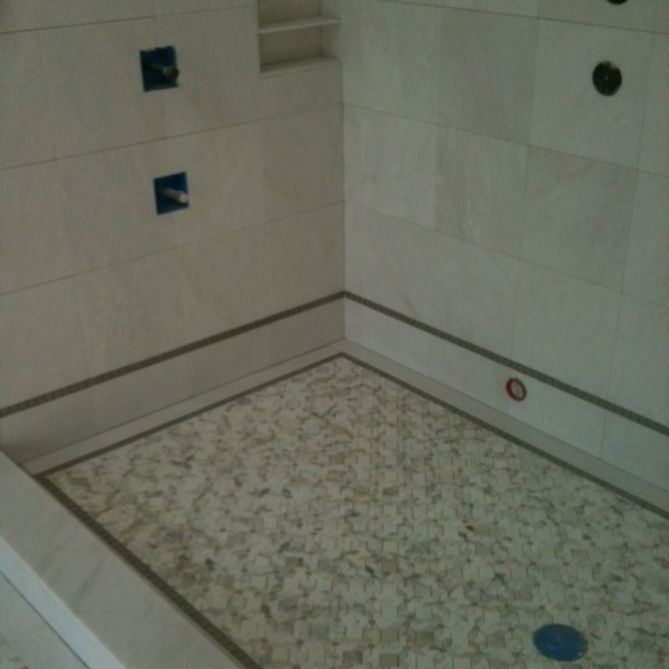 Palmeri shower floor