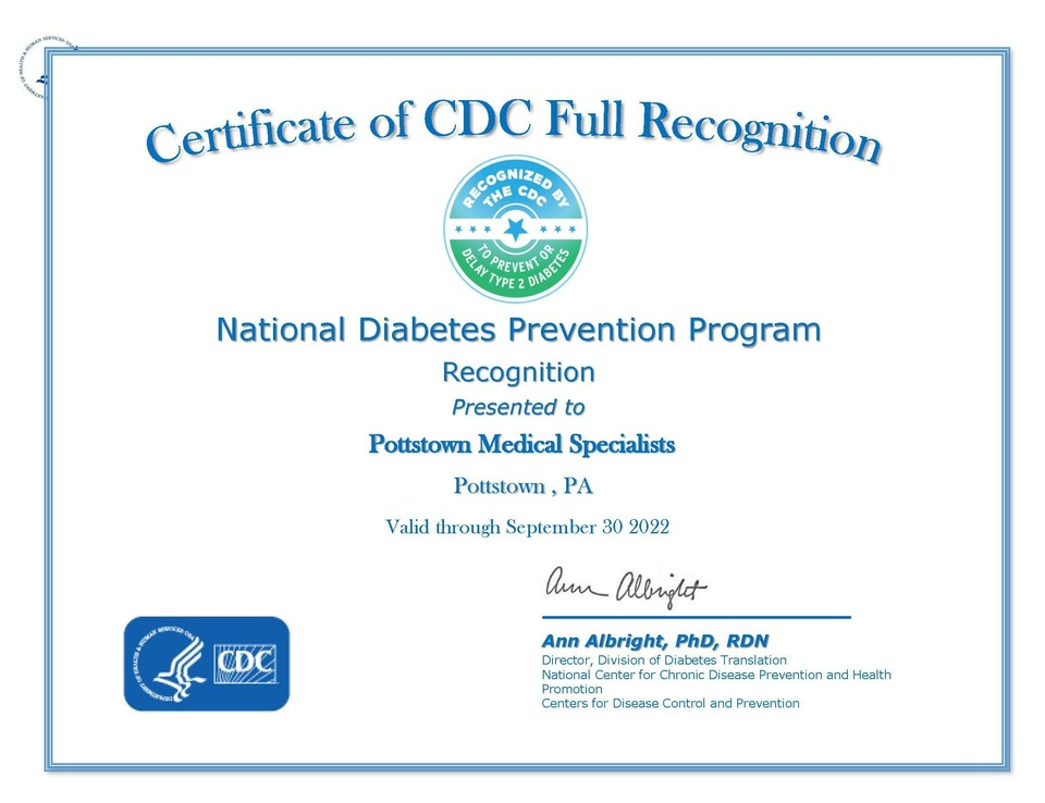 Cdc full certificate