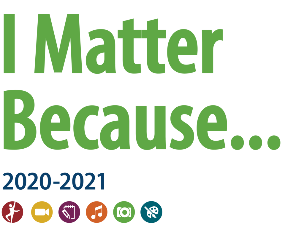 Reflections 2020 2021 i matter because text
