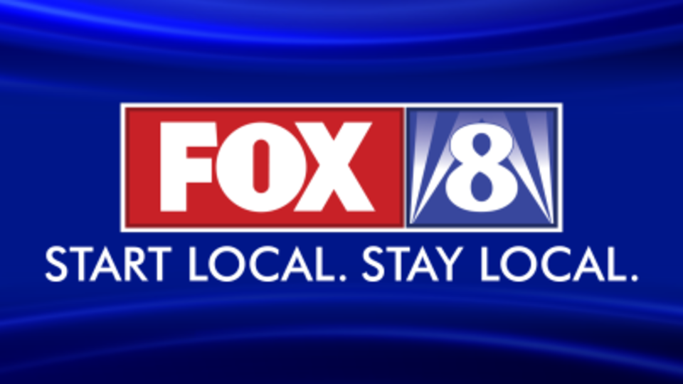 Fox8 with slogan