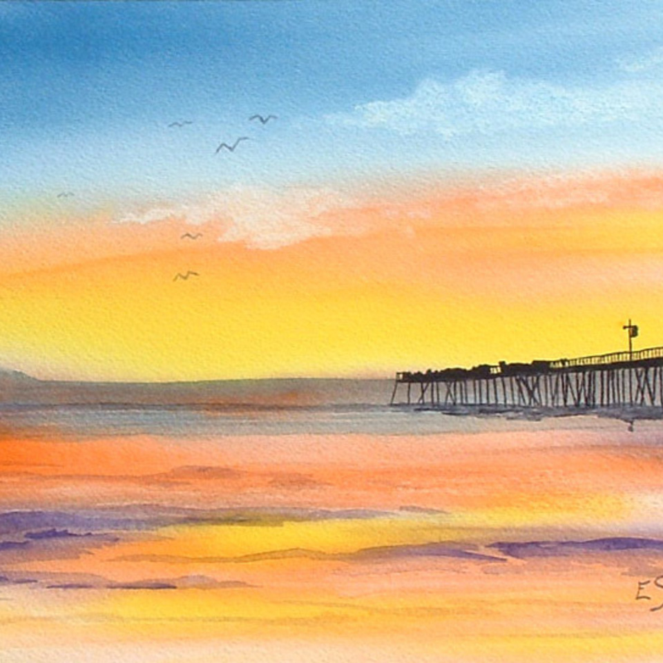 Pismo beach sunset lg
