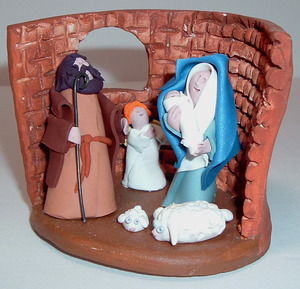 Nativity set  8