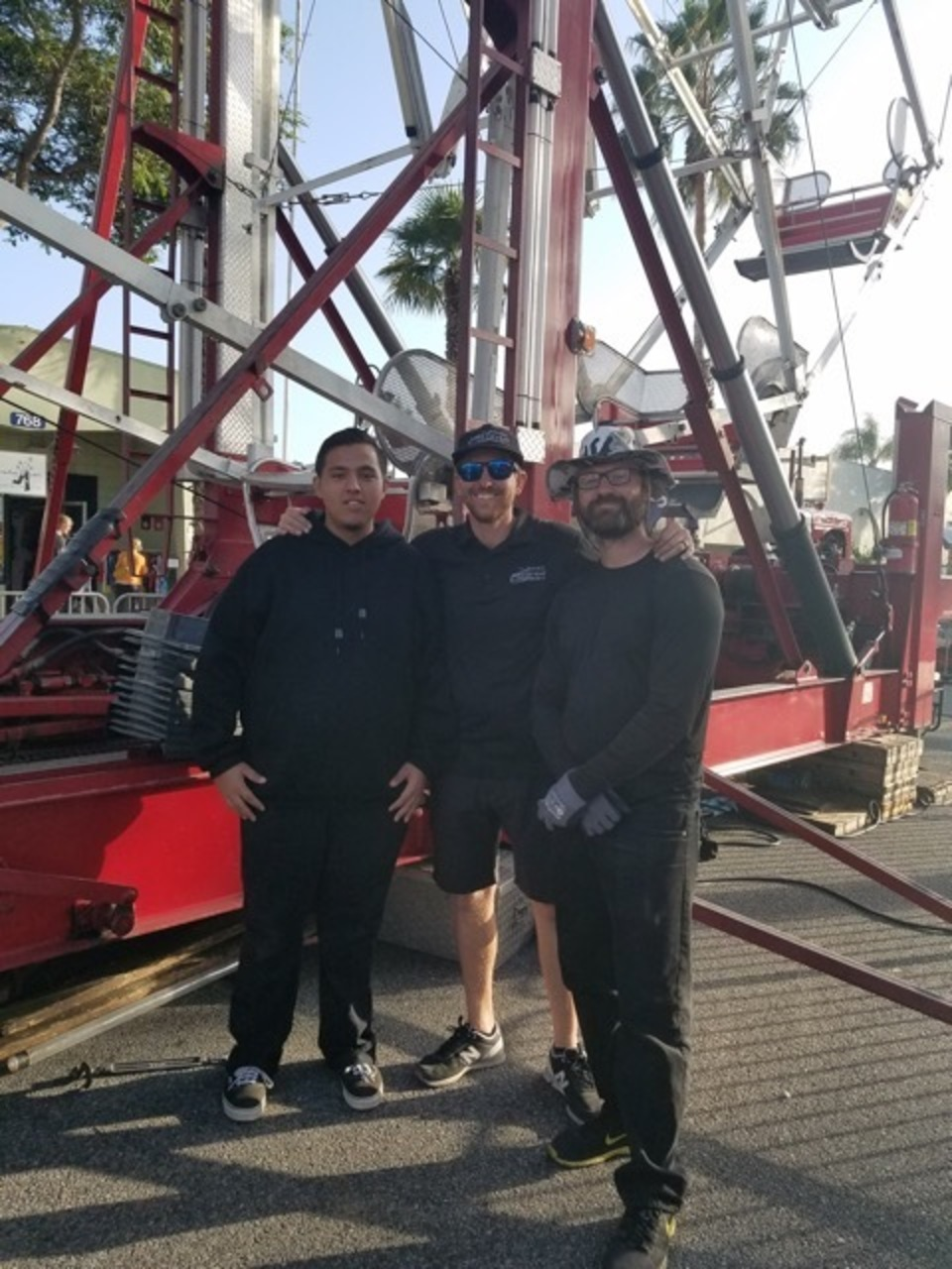 James Events Ferris Wheel heros!