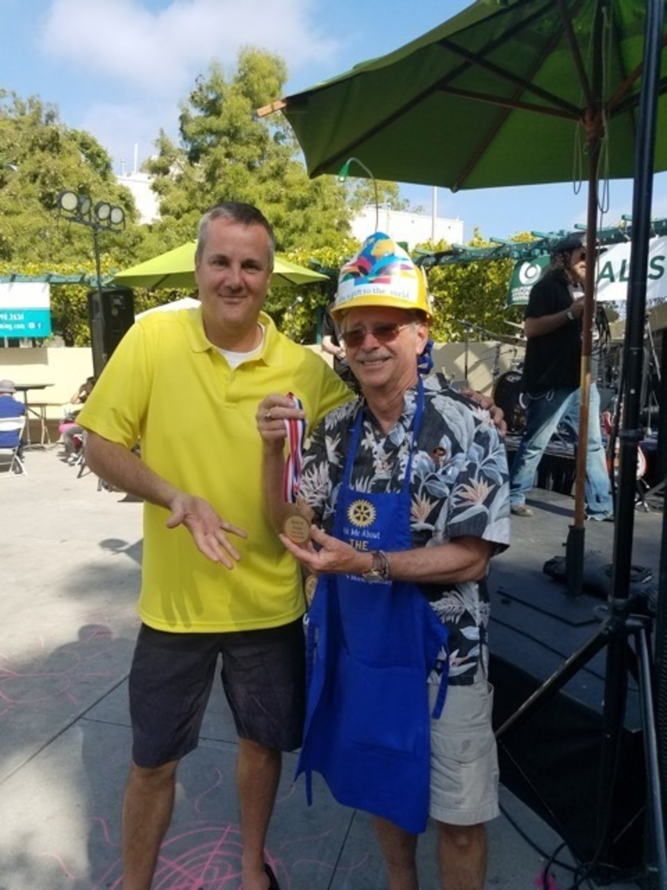 Best Non-profit BoothCARPINTERIA MORNING ROTARY