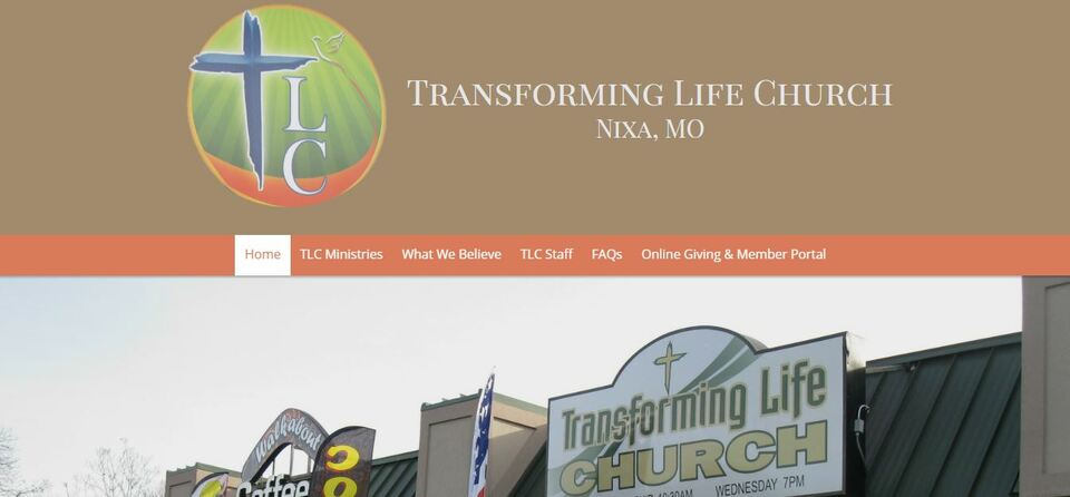 Transforming life church screen shot