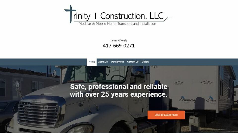 Trinity 1 construction screen shot