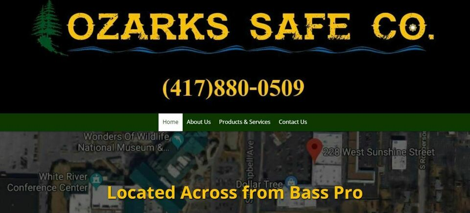 Ozarks safe co screen shot