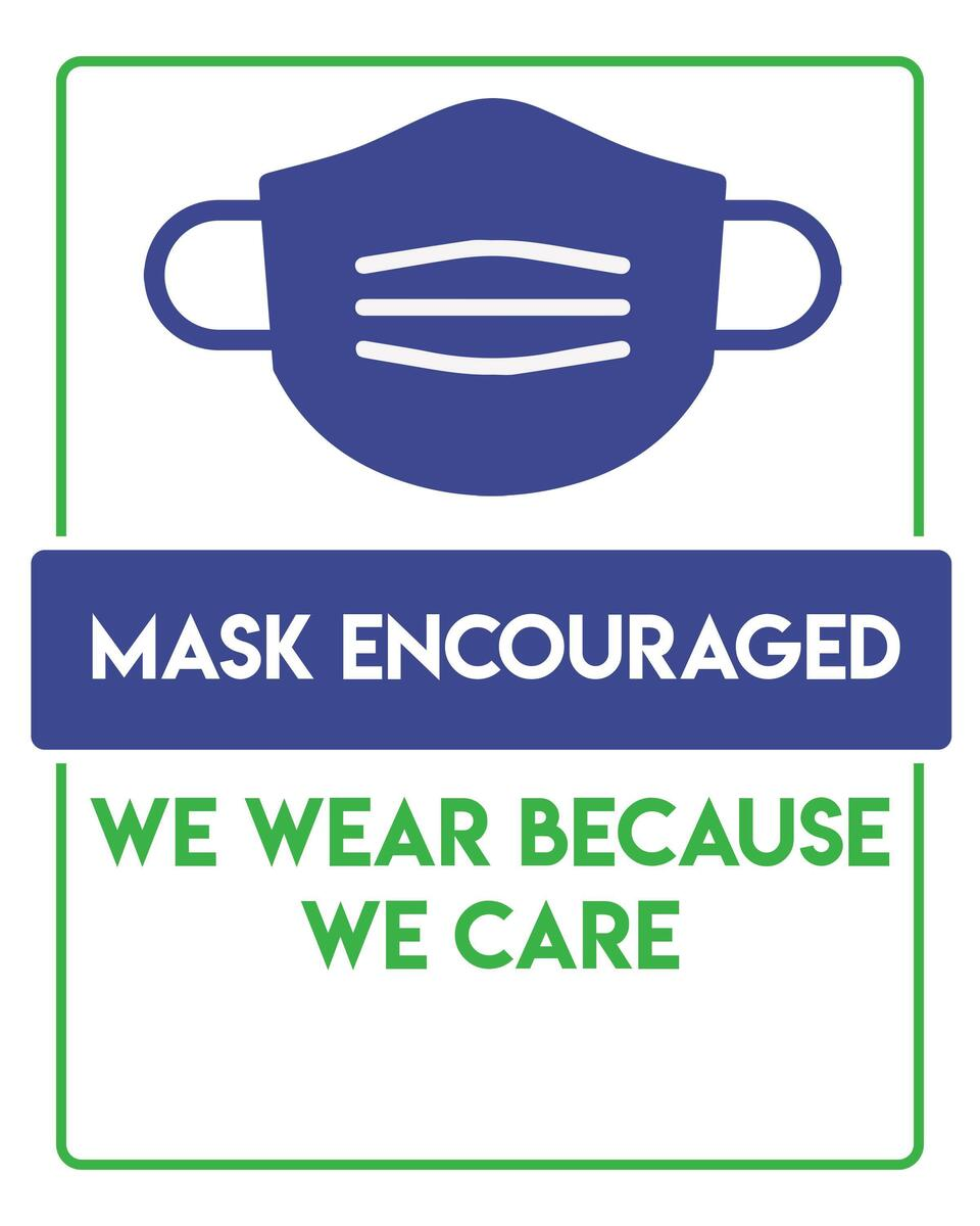 Mask encouraged