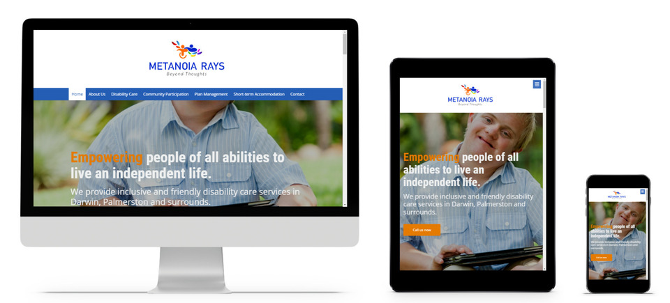 One page websites for NDIS providers