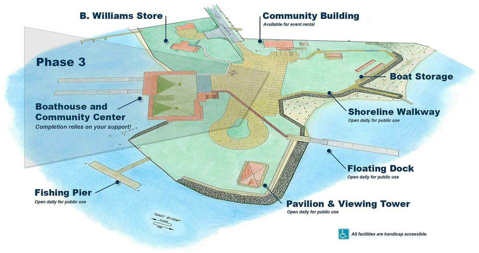 Williams wharf site plan 1