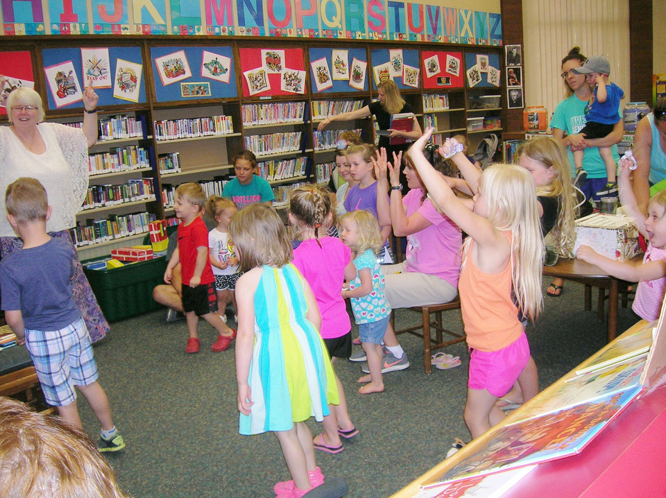 Storytime dance