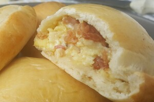Breakfast bacon   egg empanada (1)