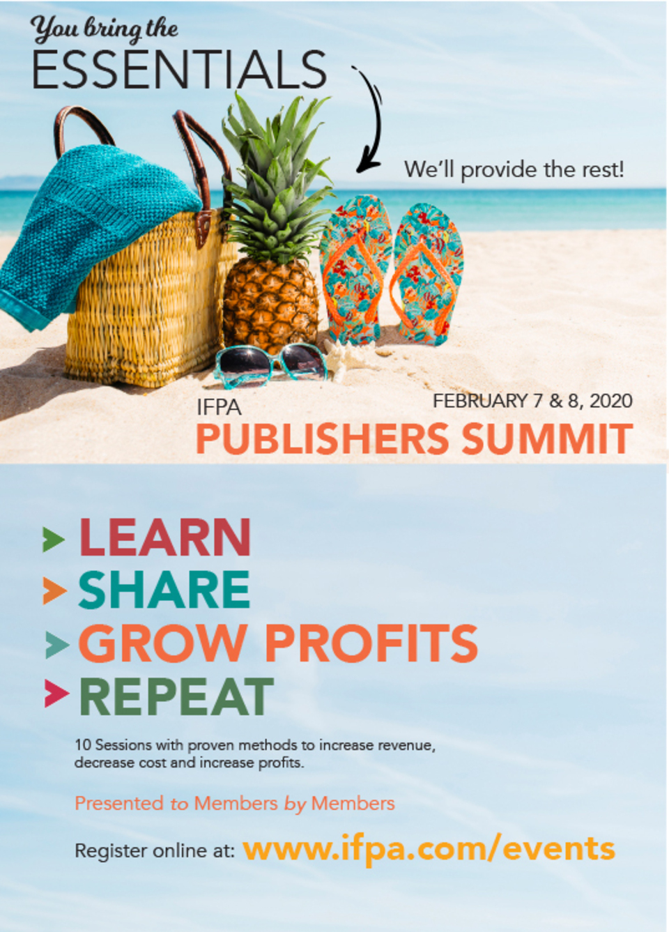Publishers summit revised