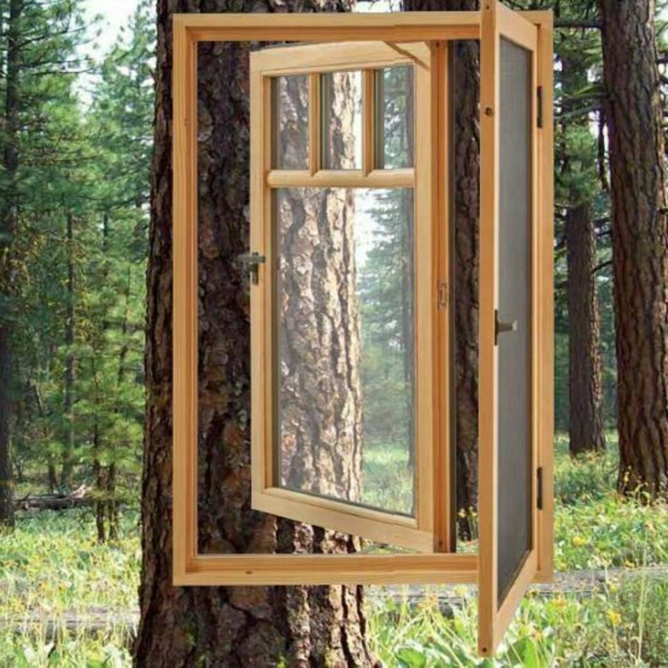 Environmentally responsible wooden window spw