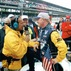Ricky bobby treadway getting interviewed by jack arute for indy 500