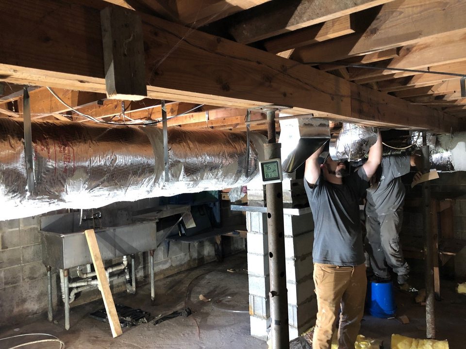 Duct work in greensboro nc