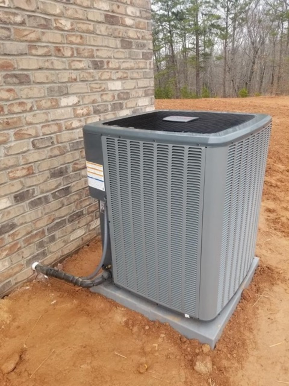 Outdoor ac unit l h heating and air conditioning