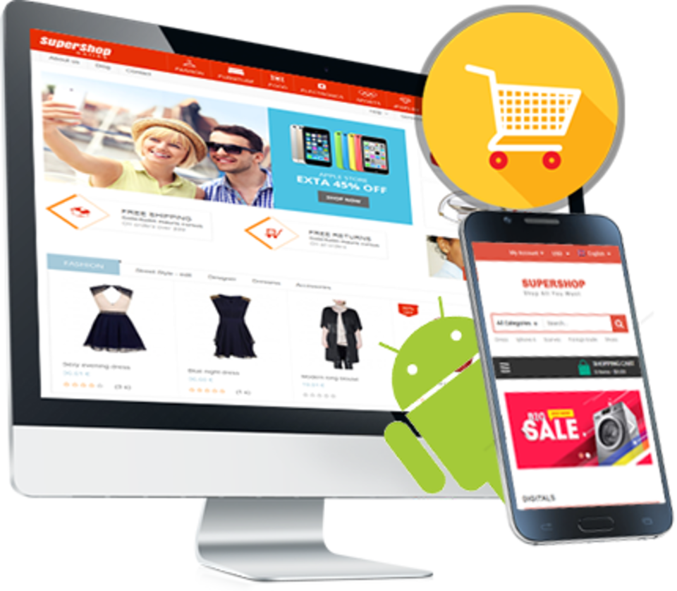 Ecommerce develop