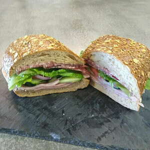 Italian Sub on Grain Roll