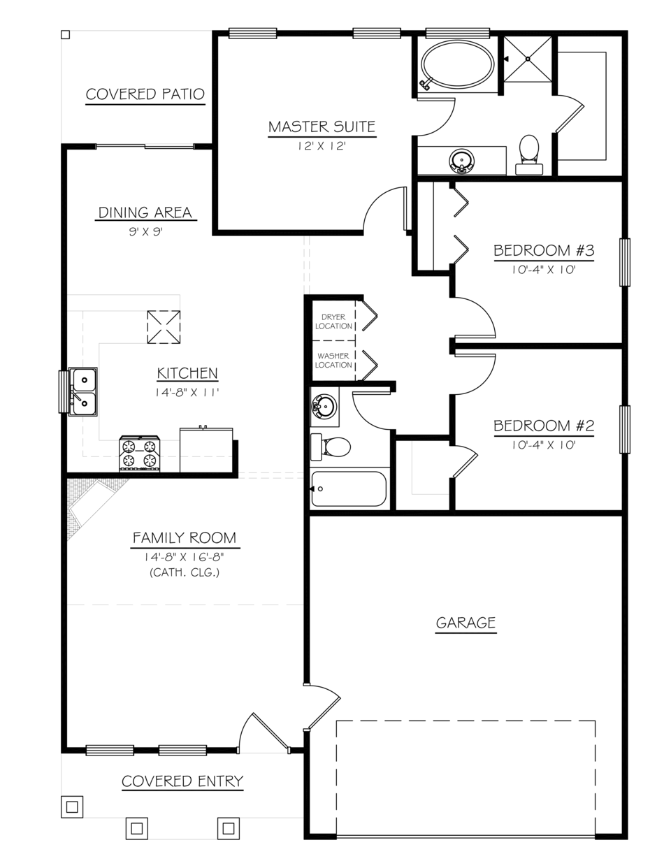Gibson   floor plan   web