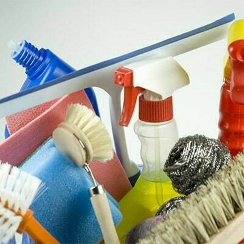 Cleaning supplies featured