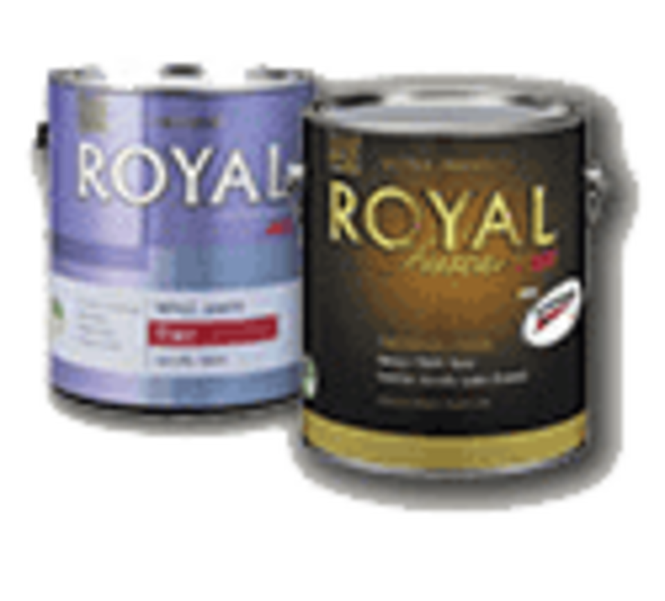 Royal paint cans