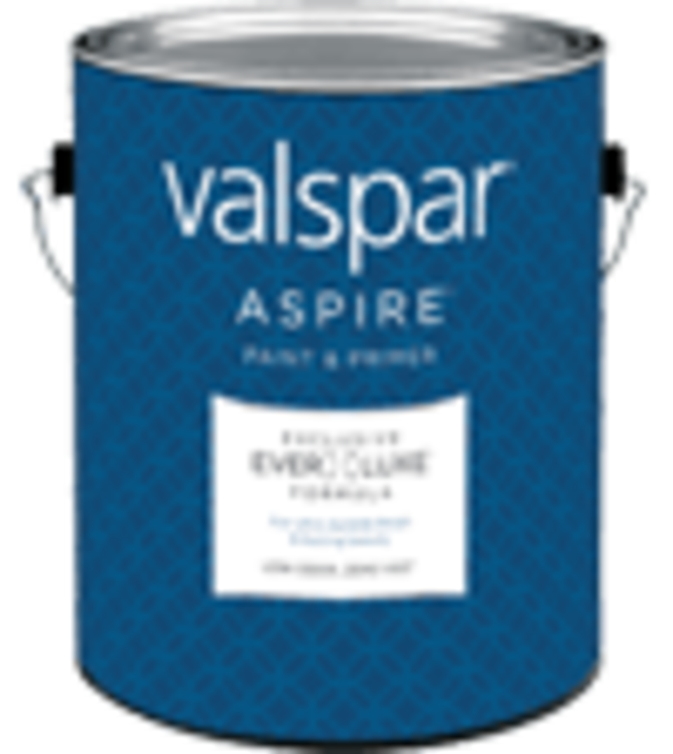 Valspar aspire can