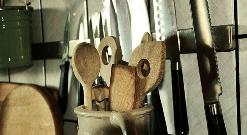 Kitchen utensils header