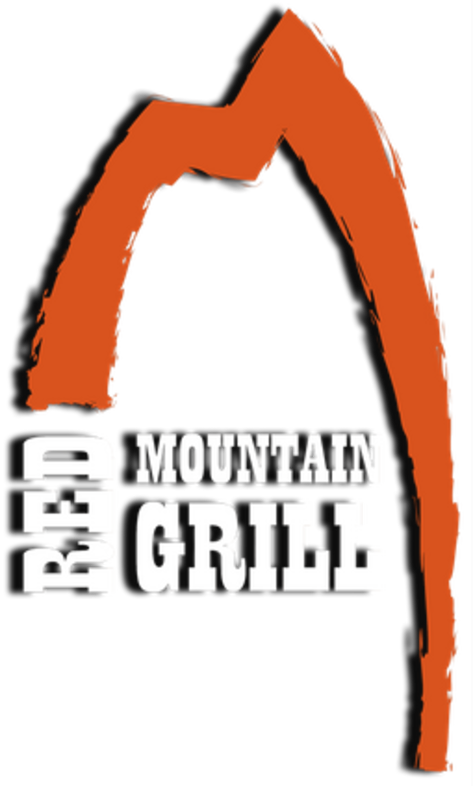 Red mountain grill logo   extracted from bus sign