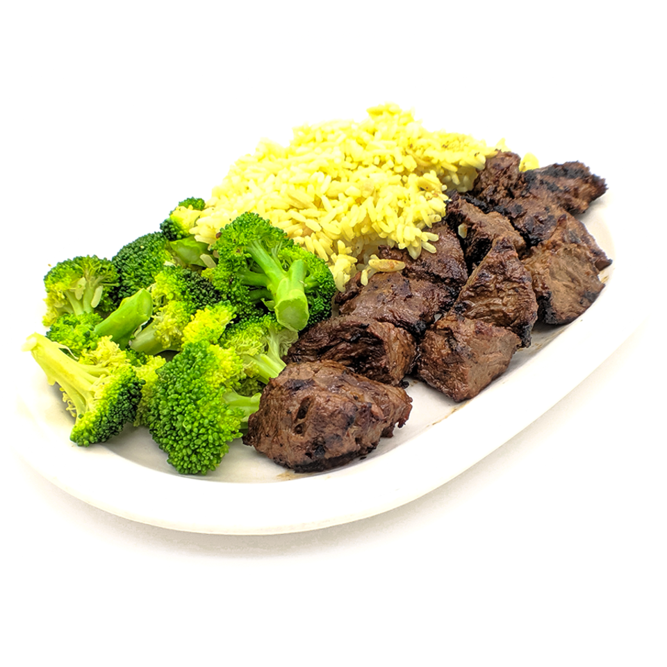 Steak tip plate
