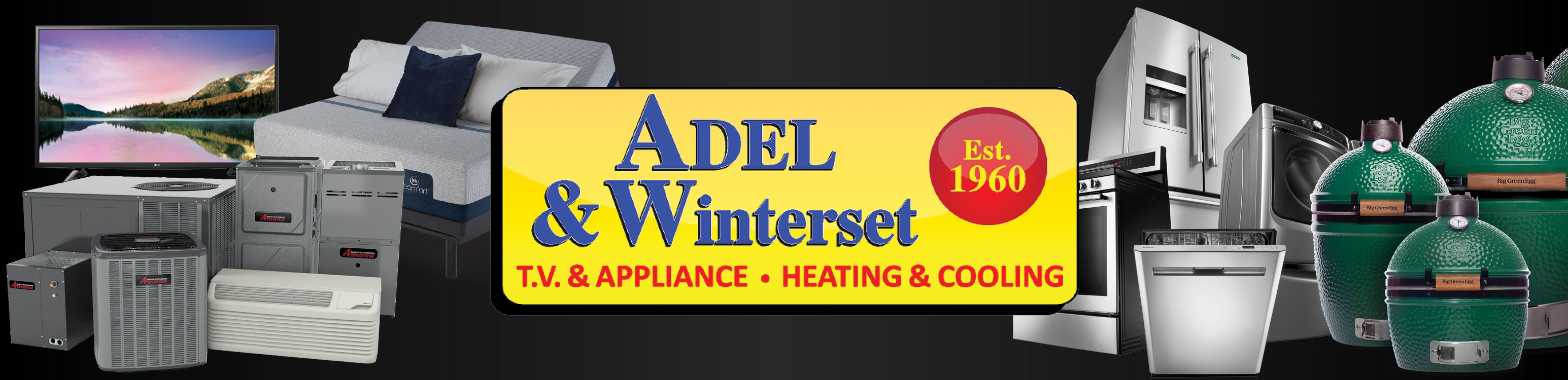 Adel & Winterset TV & Appliance • Heating & Cooling