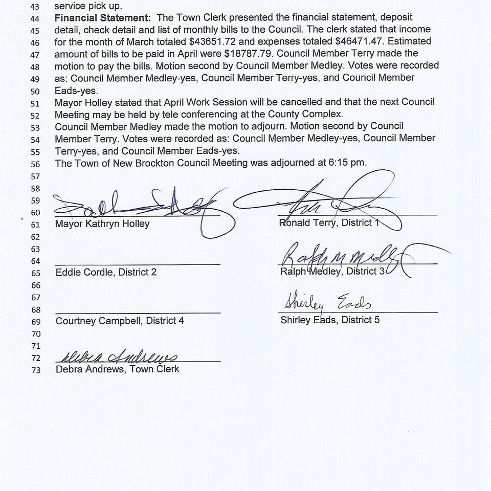 April 6  2020 council meeting page 2