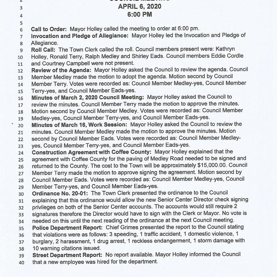 April 6  2020 council meeting page 1