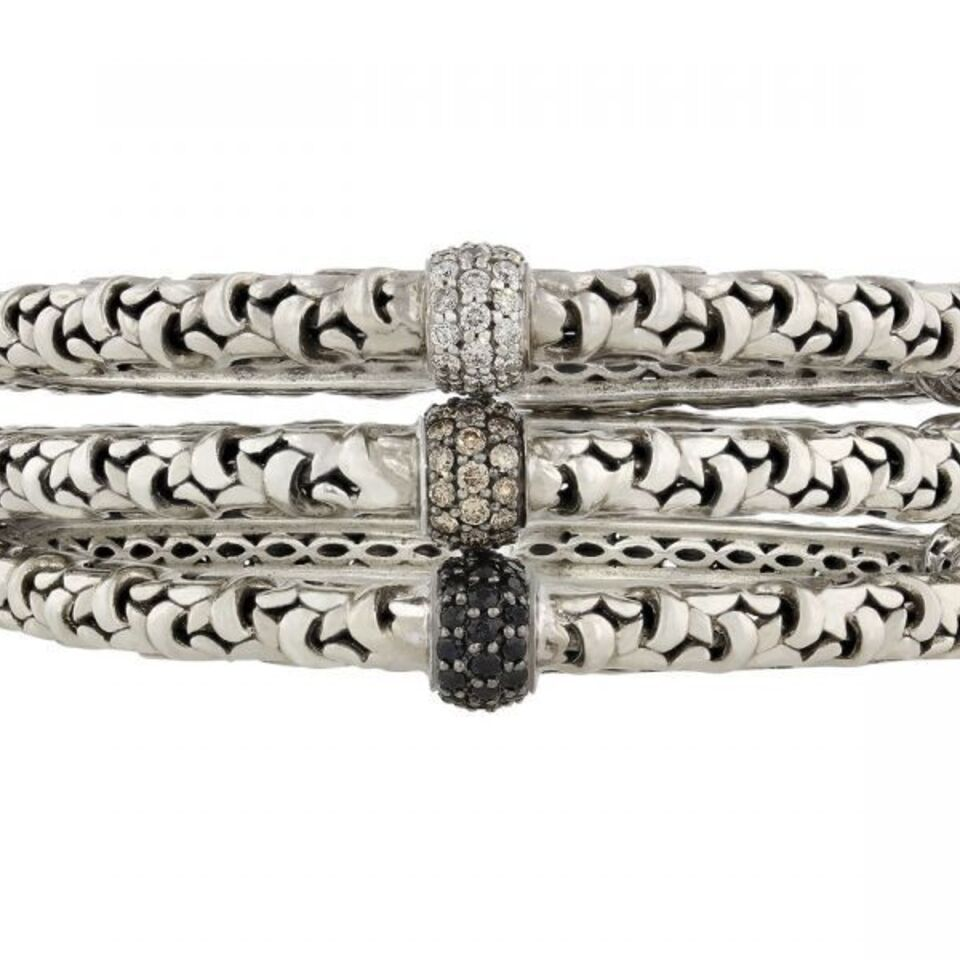 1419295491 63065 trio of charles krypell diamond ivy bracelets in 14k and sterling 0 1280x960 1  1