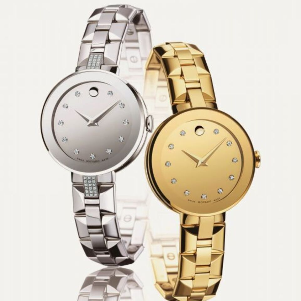 Movado sapphirea collection new ladiesa models 1 1  1
