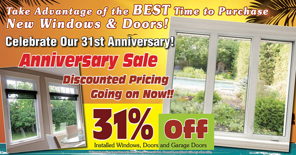 Clarkston window and door anniversary sale