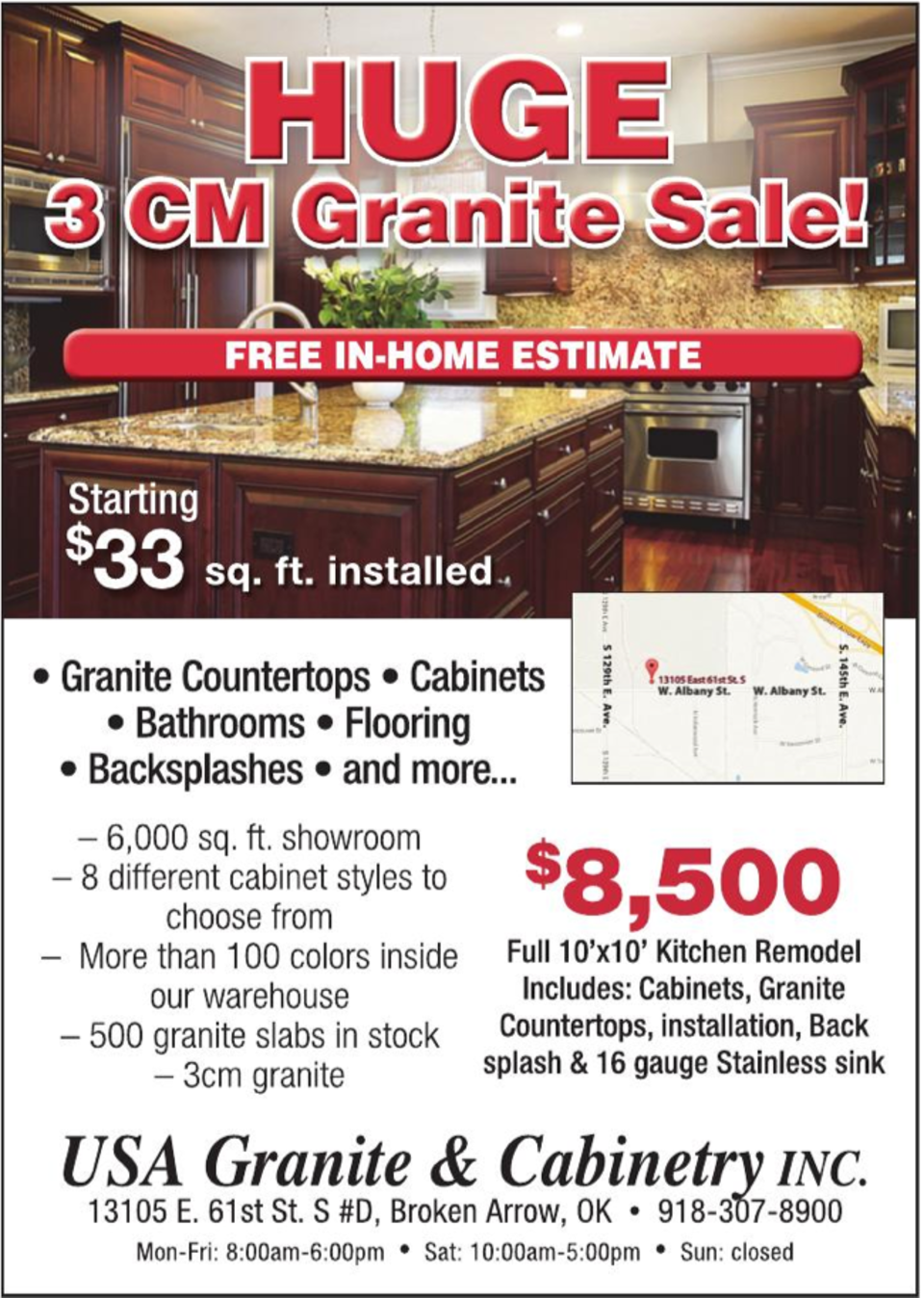 Promotions Special Offers On Granite Countertops