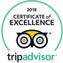 Cg trip advisors 2018 excellence