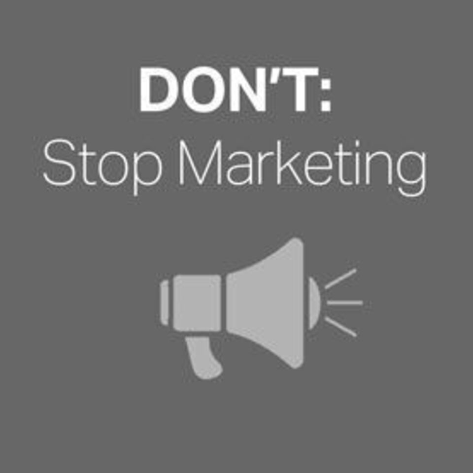 Stop marketing