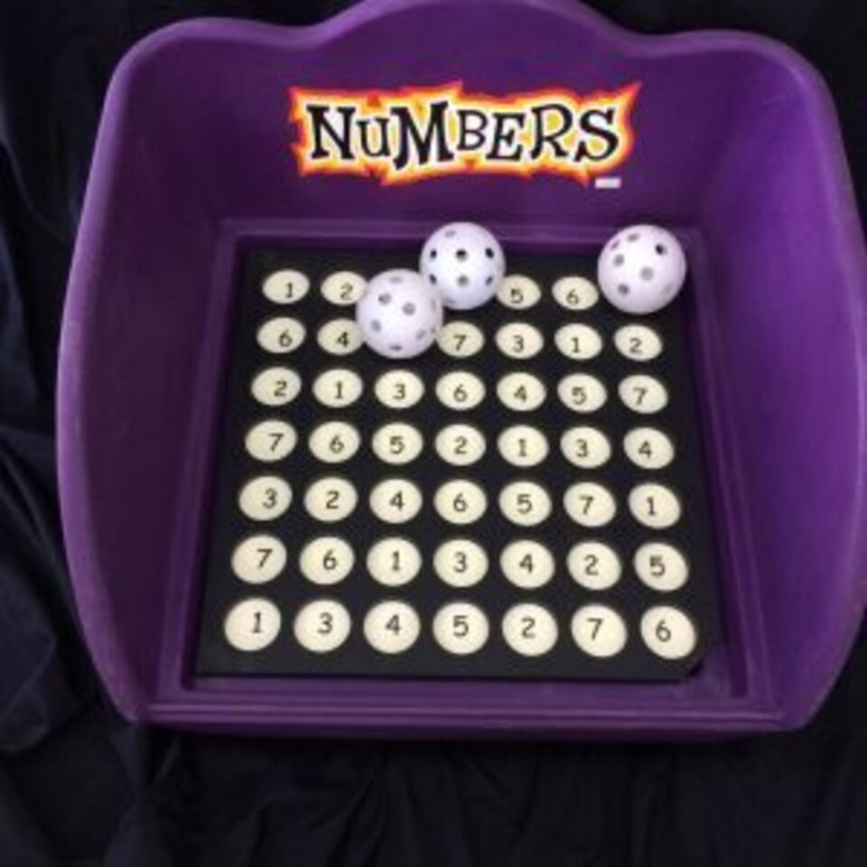 Game numbers 300x300