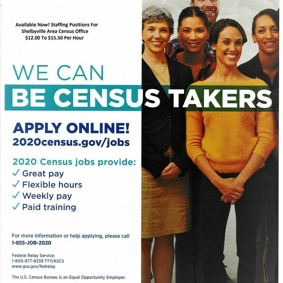 Census jobs flyer