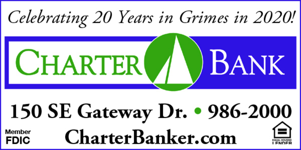 393472 charter bank 2x1 inch gri adv color