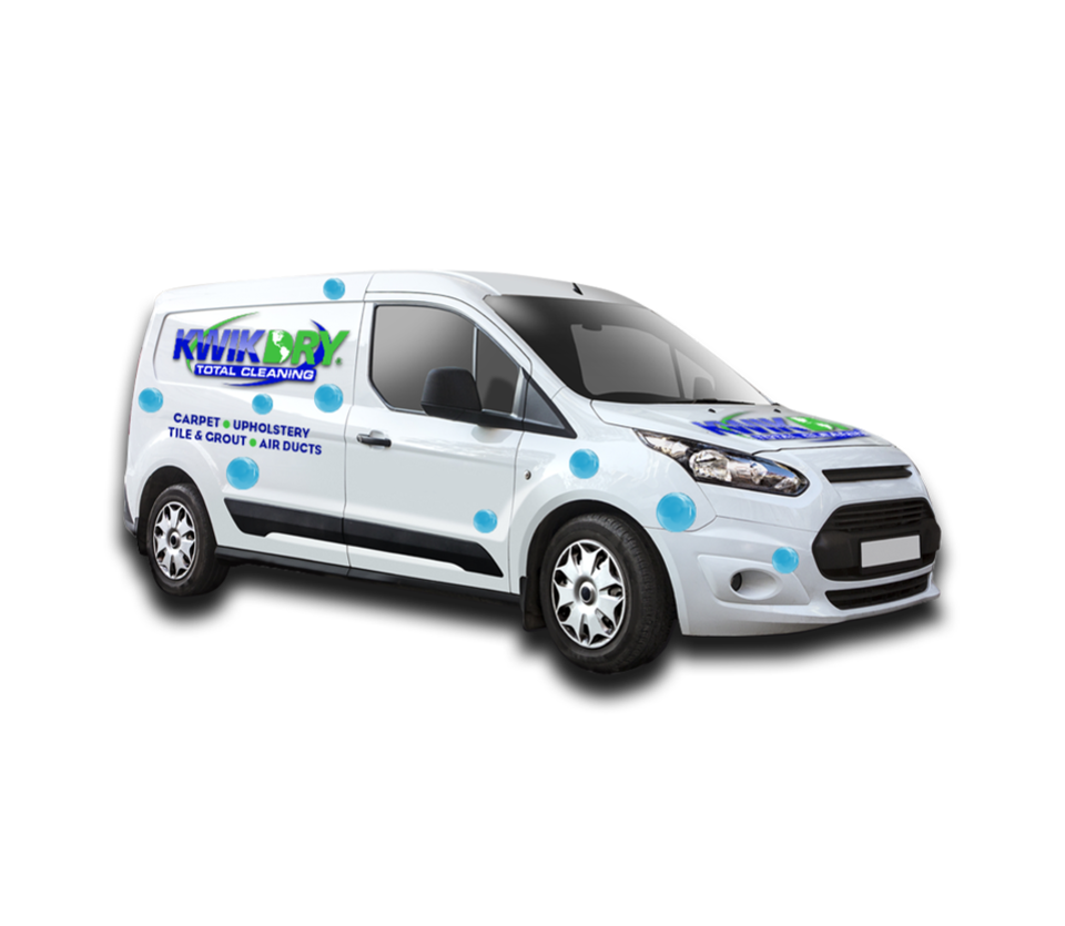 Kwikdry van dealershipvan 2