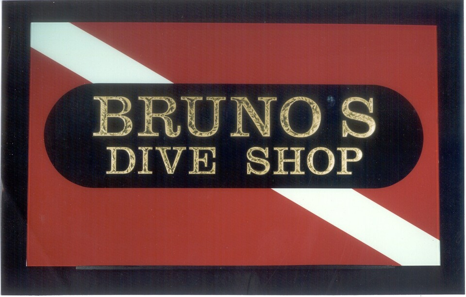 Bruno's dive shop