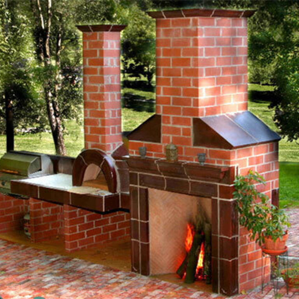 Clay bake oven