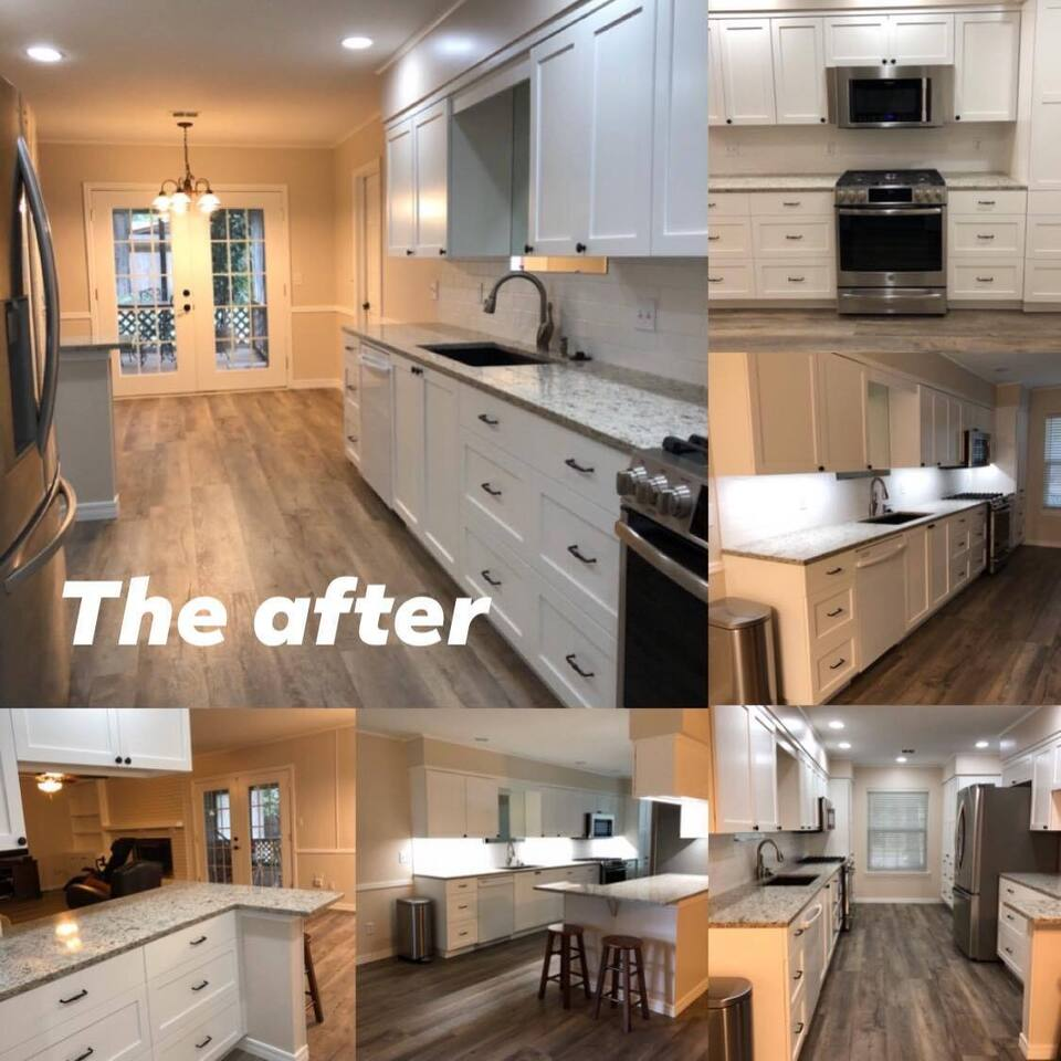 3d solutions general contractors   tulsa oklahoma   full complete kitchen remodel galley style new countertops cabinets after photos