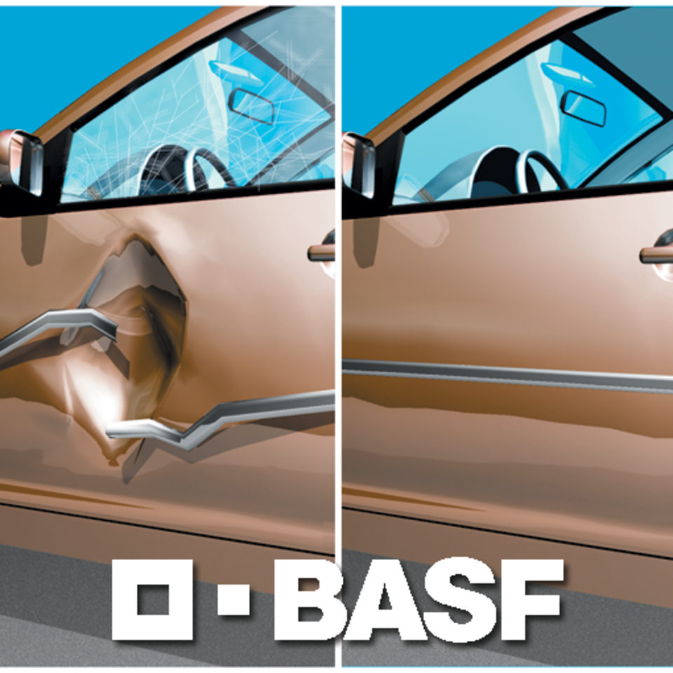 We use BASF Paint Systems