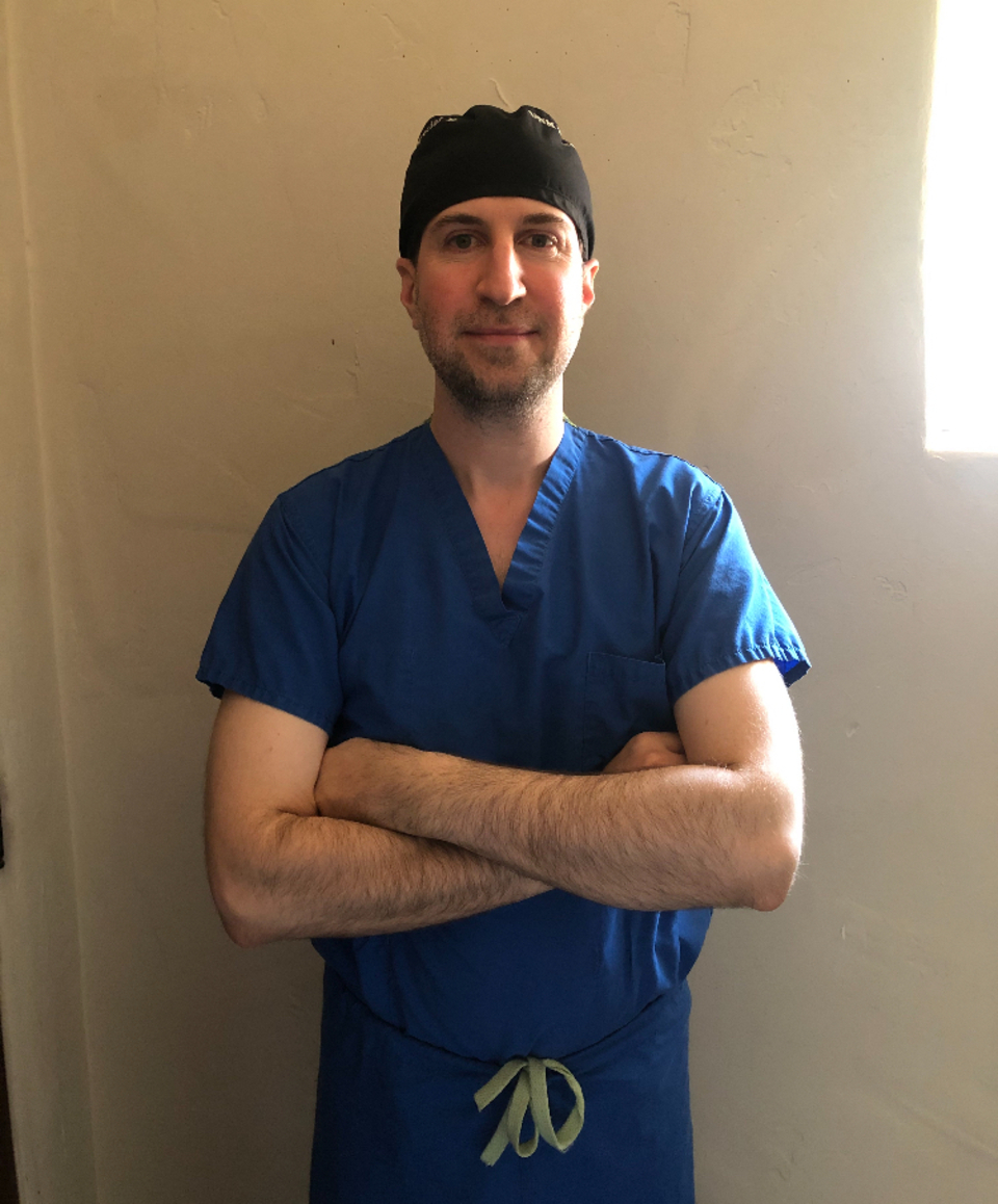 Dr. paul kaloostian scrubs picture
